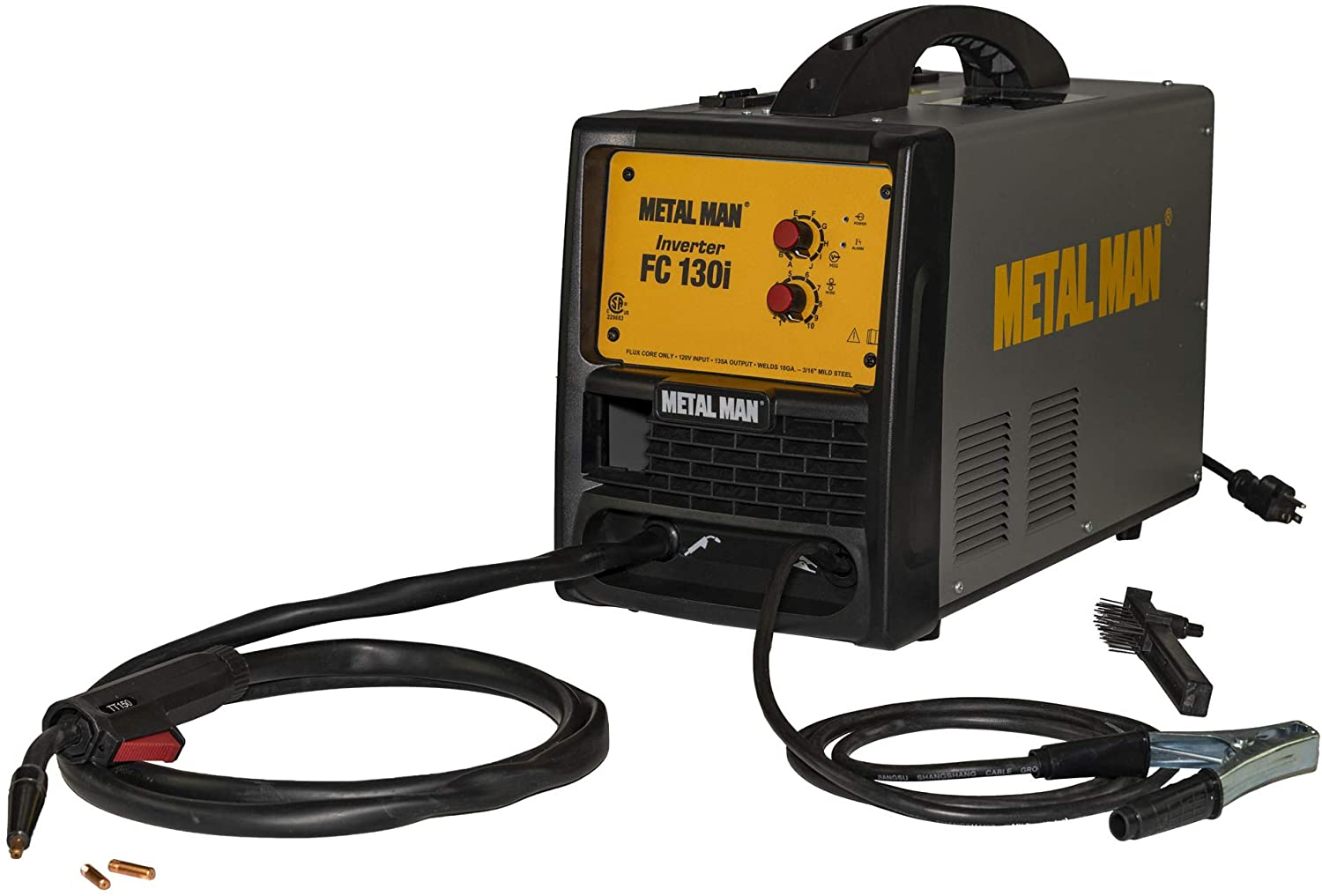 FC130i Inverter Flux Core Welder