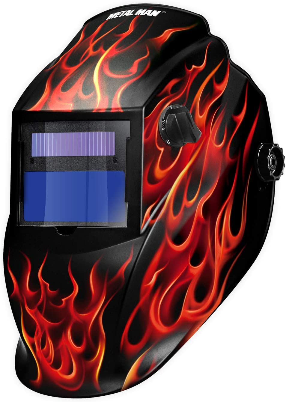 ARF8550SGC Auto Darkening Welding Helmet - Red Real Flame