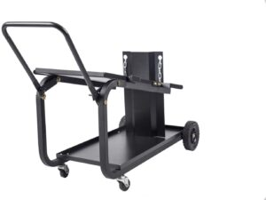 Universal Welding Cart With Fold Down Handle