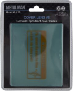 Metal Man MLK85 - Front Protective Cover Lens (5 Pack)