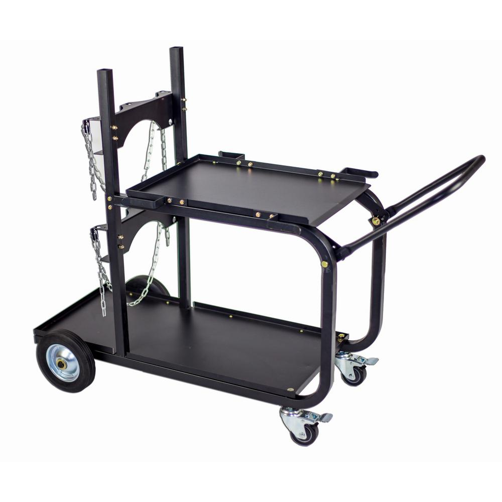 Heavy Duty Single/Dual Bottle Welding Cart