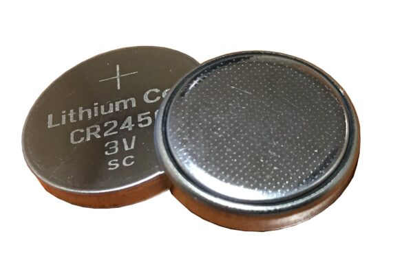 Metal Man MMCR2450R - Replacement CR2450 Battery (2 Pack)
