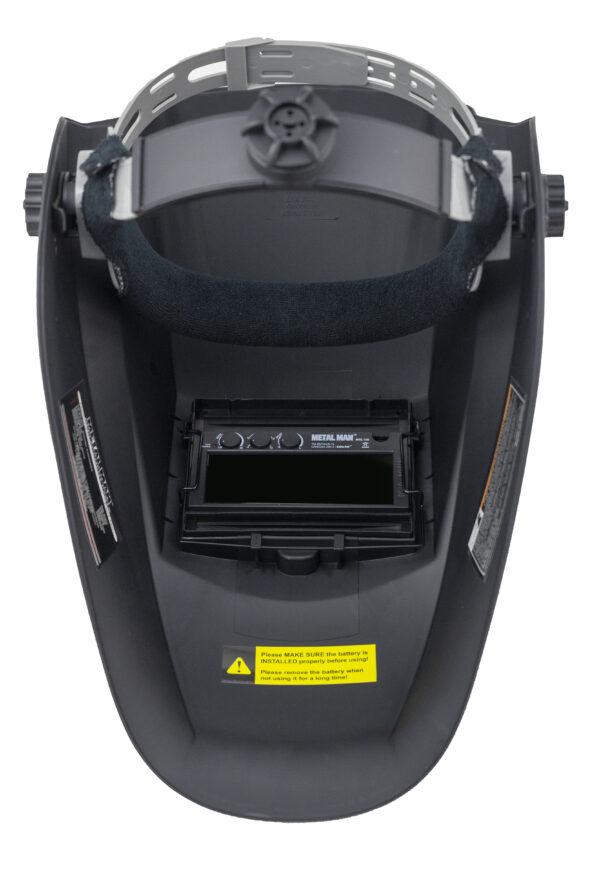 AB8100SC Auto Darkening Welding Helmet - Black