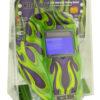 APG8735SGC-R Big Window 8735 Auto Darkening Welding Helmet - Purple/Green Flame