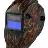 ARF8550SGC Auto Darkening Welding Helmet - Red Real Flame